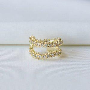 Kendra Scott Beck Ring 7 Gold
